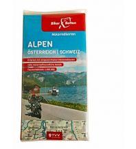 Motorradreisen Motorradkarten Set Alpen Österreich Schweiz Touristik-Verlag Vellmar