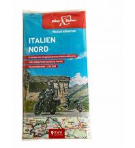 Motorradreisen Motorradkarten Set Italien Nord Touristik-Verlag Vellmar