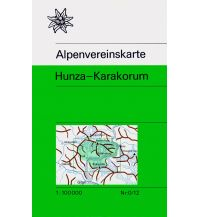 Wanderkarten Asien Alpenvereinskarte 0/12, Hunza-Karakorum 1:100.000 Österreichischer Alpenverein