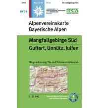 Skitourenkarten Alpenvereinskarte BY-14, Mangfallgebirge Süd - Guffert, Unnütz, Juifen 1:25.000 Österreichischer Alpenverein
