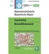 Skitourenkarten Alpenvereinskarte BY-11, Isarwinkel, Benediktenwand 1:25.000 Österreichischer Alpenverein
