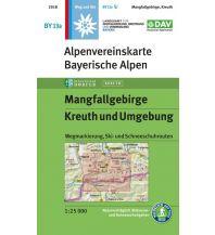 Wanderkarten Tirol Alpenvereinskarte BY-13a, Mangfallgebirge, Kreuth und Umgebung 1:25.000 Österreichischer Alpenverein
