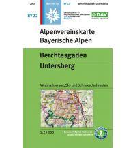 Alpenvereinskarte BY-22, Berchtesgaden, Untersberg 1:25.000 Österreichischer Alpenverein