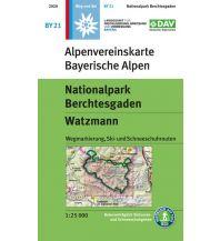 Alpenvereinskarte BY-21, Nationalpark Berchtesgaden, Watzmann 1:25.000 Österreichischer Alpenverein