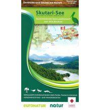 Wanderkarten Serbien & Montenegro Freizeitkarte Skutari-See 1:55.000 Huber Verlag