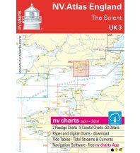 Seekarten Britische Inseln NV.Atlas UK 3 - England - The Solent 2019/2020 Nautische Veröffentlichungen