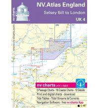 Seekarten Britische Inseln NV.Atlas UK 4 - England - Selsey Bill to R. Thames 2019/2020 Nautische Veröffentlichungen