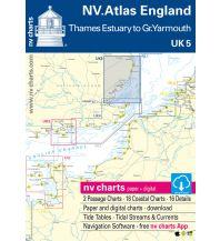 Seekarten Britische Inseln NV.Atlas UK 5 - England - R. Thames to Great Yarmouth 2019/2020 Nautische Veröffentlichungen