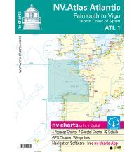 Seekarten Spanien NV Atlas Atlantic ATL 1- Falmouth to Vigo / North Coast of Spain Nautische Veröffentlichungen