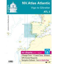 Seekarten Spanien NV Atlas Atlantic ATL 2 - Vigo to Gibraltar Nautische Veröffentlichungen