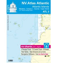 Seekarten NV Atlas Atlantic ATL 3 - Atlantic Islands / Madeira - Canary Islands - Azores - Cape Verdes Nautische Veröffentlichungen
