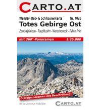 Skitourenkarten Wander-, Rad- & Schitourenkarte 402b, Totes Gebirge Ost 1:35.000 Mag. Nikolai Hafner