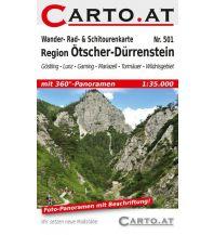 Skitourenkarten Wander-, Rad- & Schitourenkarte 501, Region Ötscher-Dürrenstein 1:35.000 Mag. Nikolai Hafner