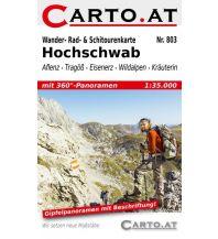 Skitourenkarten Wander-, Rad- & Schitourenkarte 803, Hochschwab 1:35.000 Mag. Nikolai Hafner