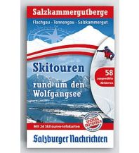 Skitourenkarten Skitouren rund um den Wolfgangsee - Salzkammergutberge Typolitho Medienproduktion
