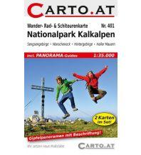 Skitourenkarten Wander- Rad- & Schitourenkarte 401, Nationalpark Kalkalpen 1:35.000 Mag. Nikolai Hafner