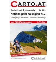 Skitourenkarten Wander- Rad- & Schitourenkarte 401a, Nationalpark Kalkalpen West 1:35.000 Mag. Nikolai Hafner