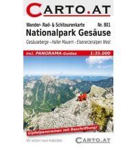 Skitourenkarten Wander- Rad- & Schitourenkarte 801, Nationalpark Gesäuse 1:35.000 Mag. Nikolai Hafner