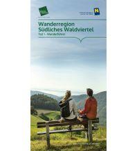 Wanderkarten Niederösterreich Wanderregion Südliches Waldviertel (Wanderführer & Wanderkarte) Destination Waldviertel
