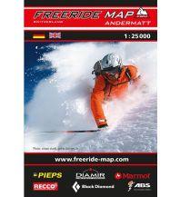 Skitourenkarten Freeride Map Andermatt 1:25.000 outkomm gmbh