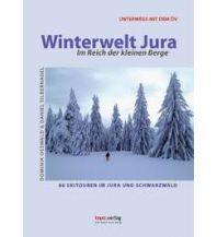 Skitourenführer Schweiz Winterwelt Jura topo.verlag