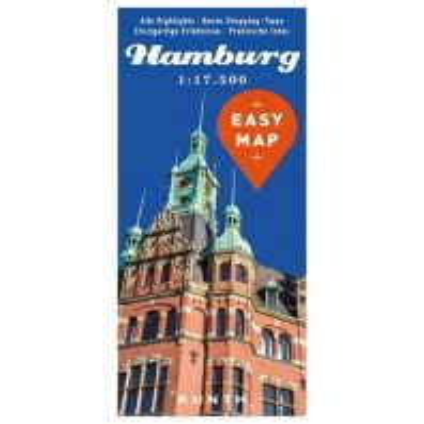 Stadtpläne EASY MAP Deutschland HAMBURG Wolfgang Kunth GmbH & Co KG