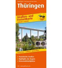 f&b Straßenkarten Thüringen Freytag-Berndt und ARTARIA