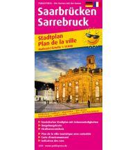f&b Stadtpläne Saarbrücken / Sarrebruck Freytag-Berndt und ARTARIA
