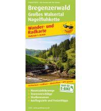 f&b Wanderkarten Bregenzerwald, Großes Walsertal, Nagelfluhkette Freytag-Berndt und ARTARIA