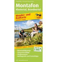 f&b Wanderkarten Montafon, Klostertal, Brandnertal Freytag-Berndt und ARTARIA