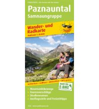 f&b Wanderkarten Paznauntal, Samnaungruppe Freytag-Berndt und ARTARIA