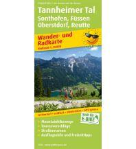 f&b Wanderkarten Tannheimer Tal, Sonthofen, Füssen, Oberstdorf, Reutte Freytag-Berndt und ARTARIA