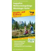 f&b Wanderkarten Zugspitze - Wettersteingebirge - Mieminger Kette Freytag-Berndt und ARTARIA