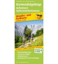 f&b Wanderkarten PublicPress Wander- und Radkarte 1506, Karwendelgebirge, Achensee, Sylvensteinstausee 1:35.000 Freytag-Berndt und ARTARIA