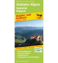 f&b Wanderkarten Stubaier Alpen, Stubaital, Wipptal Freytag-Berndt und ARTARIA