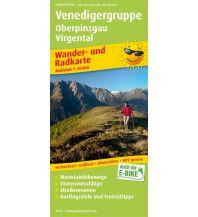 f&b Wanderkarten Venedigergruppe, Oberpinzgau, Virgental Freytag-Berndt und ARTARIA