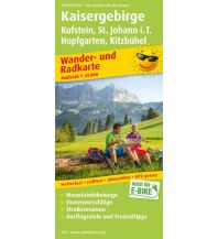 f&b Wanderkarten Kaisergebirge, Kufstein - St. Johann i.T., Hopfgarten - Kitzbühel Freytag-Berndt und ARTARIA