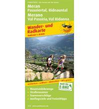 f&b Wanderkarten Meran, Passeiertal, Ridnauntal / Merano, Val Passiria, Val Ridanna Freytag-Berndt und ARTARIA