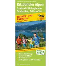 f&b Wanderkarten Kitzbüheler Alpen, Saalbach-Hinterglemm, Saalfelden - Zell am See Freytag-Berndt und ARTARIA