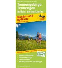 f&b Wanderkarten Tennengebirge, Tennengau, Hallein - Bischofshofen Freytag-Berndt und ARTARIA