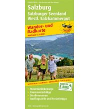 f&b Wanderkarten Salzburg, Salzburger Seenland, Westl. Salzkammergut Freytag-Berndt und ARTARIA