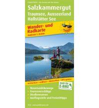 f&b Wanderkarten Salzkammergut, Traunsee, Ausseerland, Hallstätter See Freytag-Berndt und ARTARIA