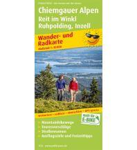f&b Wanderkarten Chiemgauer Alpen, Reit im Winkl, Ruhpolding, Inzell Freytag-Berndt und ARTARIA