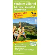 f&b Wanderkarten Vorderes Zillertal, Achensee - Alpbachtal, Wildschönau Freytag-Berndt und ARTARIA