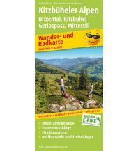f&b Wanderkarten Kitzbüheler Alpen, Brixental - Kitzbühel, Gerlospass - Mittersill Freytag-Berndt und ARTARIA