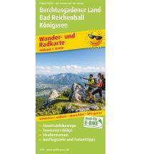 f&b Wanderkarten Berchtesgadener Land, Bad Reichenhall, Königssee Freytag-Berndt und ARTARIA