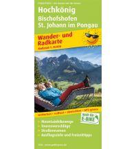 f&b Wanderkarten Hochkönig, Bischofshofen, St. Johann im Pongau Freytag-Berndt und ARTARIA