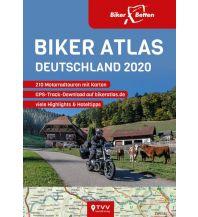 Motorradreisen Biker Atlas DEUTSCHLAND 2020 Touristik-Verlag Vellmar
