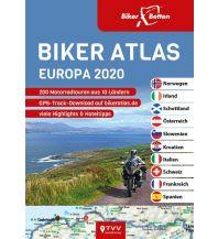 Motorradreisen Biker Atlas EUROPA 2020 Touristik-Verlag Vellmar