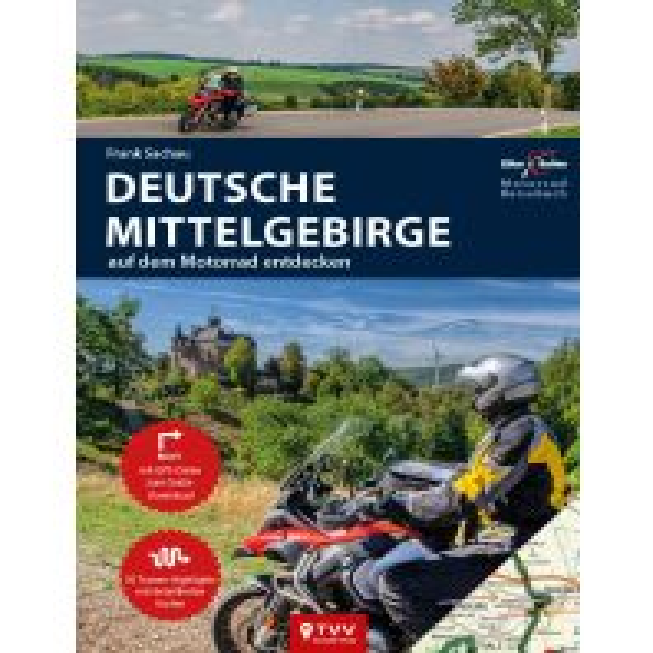 Motorrad Reiseführer Deutsche Mittelgebirge Touristik-Verlag Vellmar